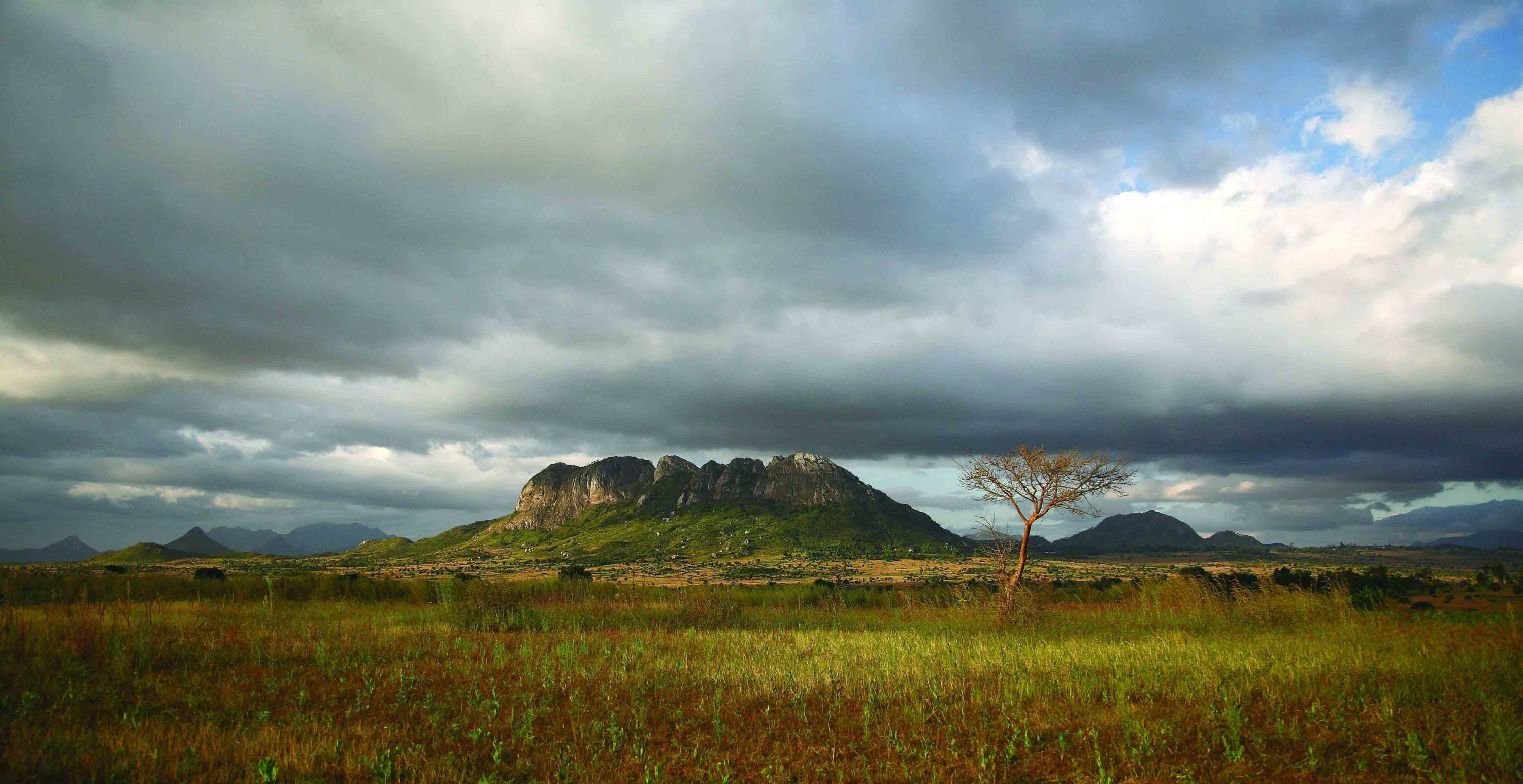 Photo of Farm ladnscape in central Malawi. By ILRI/Stevie Mann, CC 2.0