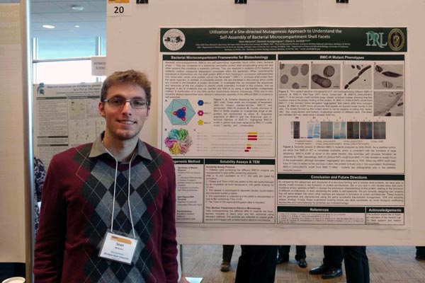 Sean McGuire awarded Undergraduate Research Fellowship